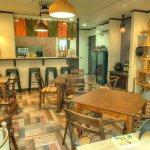 QK Cafe Interior