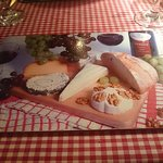 Could not eat a Cheese board. Even if it was a beautiful place mat :).