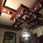 il soffitto di una delle stanze