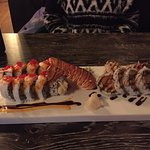 Lobster Tail roll and Dynamite Roll