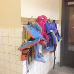 Life jackets for those who need them.
