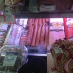 Wonderful selection of calabaza and sausages