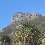 Lions head from Clifton Beach