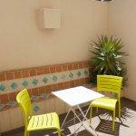 """Chambre Double """"Confort plus"""" avec patio intérieur"""