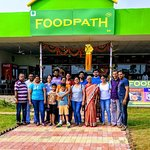 Happy families at #FoodPath :-)