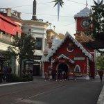 Santa village.