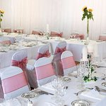 We cater for weddings up to 120 persons in our Lonsdale Suite.