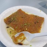 The famous kenafeh plate