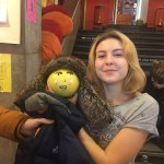 Frances with her new foster parent, Anna (hostel staff)