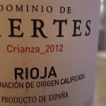 Crianza 2012 (Rioja rouge espagnol)