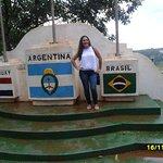 Hito de Las Tres Fronteras Argentina Foto
