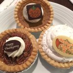 Some of the Thanksgiving pies