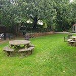 Garden outdoor Bar.