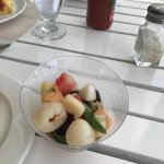 Fresh fruit at breakfast.
