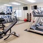 Stay on track with your goals in our 24 hour fitness center.