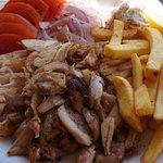 Gyros chicken platter