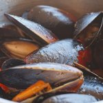 Mussels in garlic