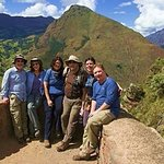 in ruins of Pisac - Sacred Valley of the Incas - Cusco