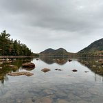 Jordan pond and bubble mountain