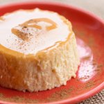 Our homemade Flan is Caramel, Cinnamon and Vanilla goodness!