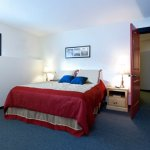 The Bulldog Hotel - One Bedroom with Alcove / 2 Bathroom Apartment - Master Bedroom (Room 5)