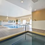Indoor Pool and Spa, time to relax, new pool furniture in 2017