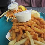 Fried Clams and Fries