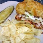 Zehnder's famous Hazelwood Sandwich featuring Zehnder's Coleslaw