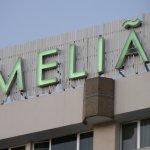Rooftop MELIA Sign!