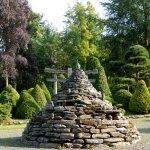 La pyramide en pierres