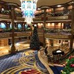 Merrytime decor on the Disney Dream