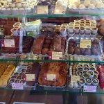 Many tempting chocolates