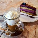 Coffee and Blueberry Cake