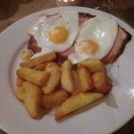 Bacon, Egg & Chips - Evening Meal