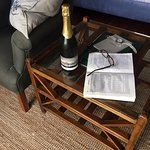 Champagne, relaxation and divine accomodation