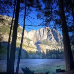 Yosemite in the Fall is quiet and very pleasant.