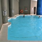 Indoor Pool was NOT heated!