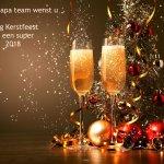 Het Dua Bapa team wenst u Zalig kerstfeest en een super 2018.