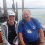 "Dad (2,000 + dives) and the daughter (Amanda) undergoing ""official)""diver training."