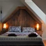 Chambre 9, dans la tourelle avec lit rond, pour 2 à 4 personnes