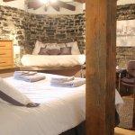 Notre magnifique suite K, pouvant accueillir jusqu'à 4 personnes avec lit rond!