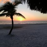 Sunsets at Fort Meyers Beach are stunning.