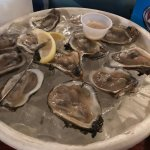 Yep, oysters on the half shell.