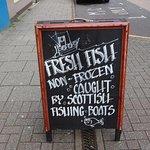 Local, fresh fish.