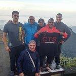 Foto sacada en lo alto de Adam's Peak!
