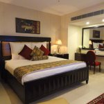 Home to 117 rooms across seven categories