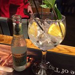 Wonderfully presented Gin and Tonic
