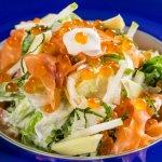 Salada Gravlax Salmão