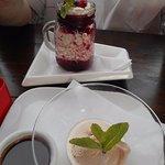 Eton mess & Amarula ice cream