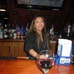 julie the very pretty bartender....